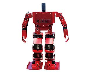 ALSrobot Red Dance Robot