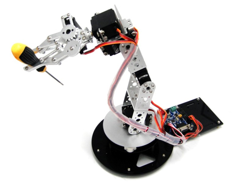 6D0F robotic arm