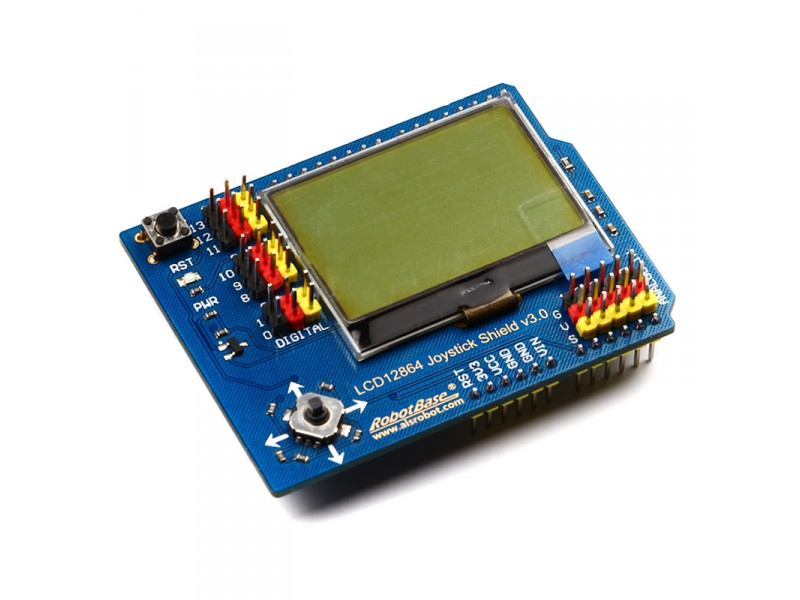 LCD12864 Joystic Shield