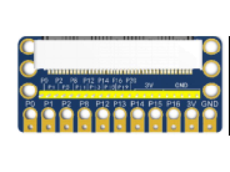 microbit IO Shield (lego fixed hole)