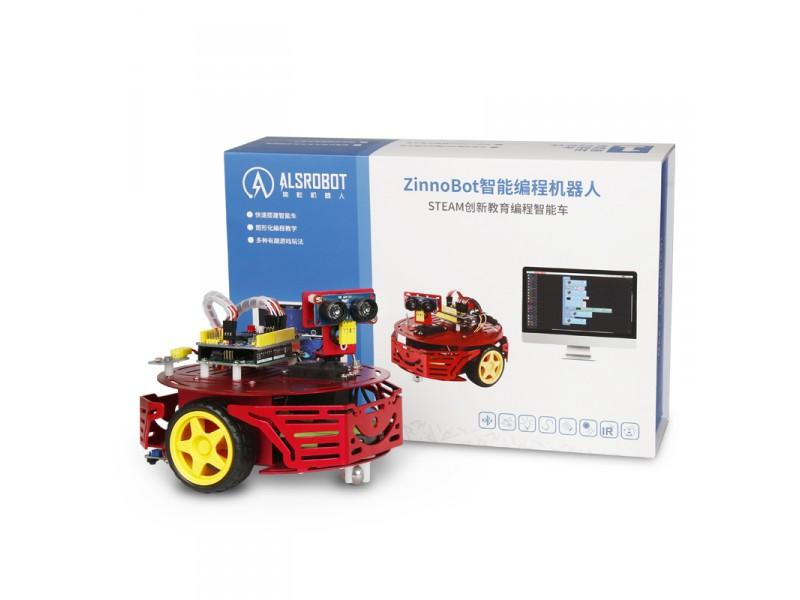 Zinnobot Intelligent Programming Robot